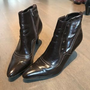 Franco Sarto Espresso Boots